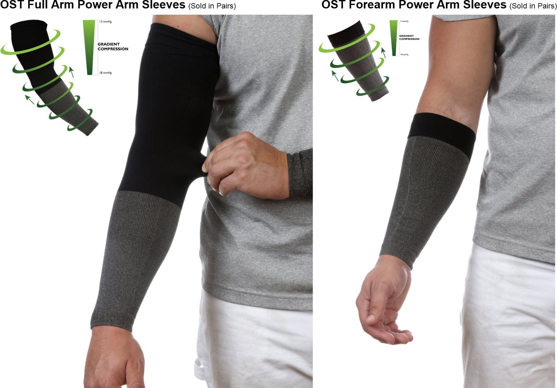 Onsite Therapy Power Arm Sleeves